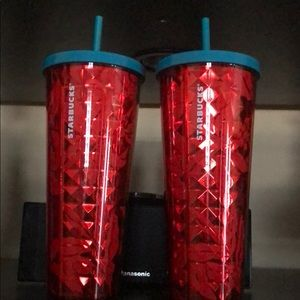 2 Starbucks tumblers brand new with tag on